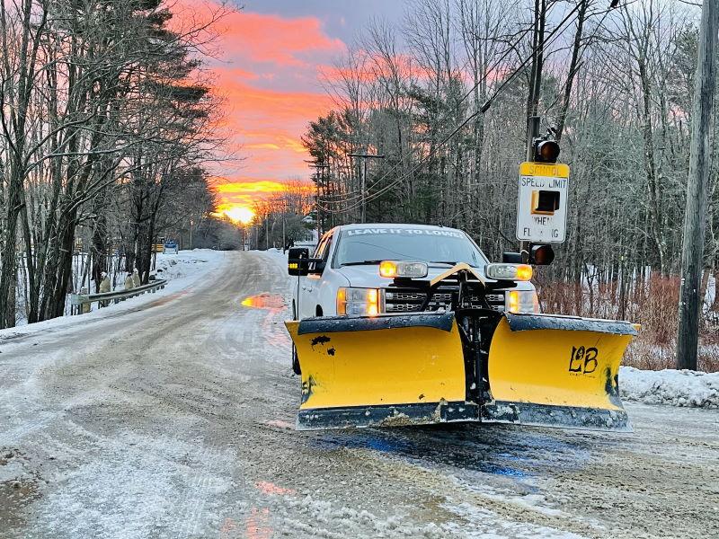 lowe basset winter plowing